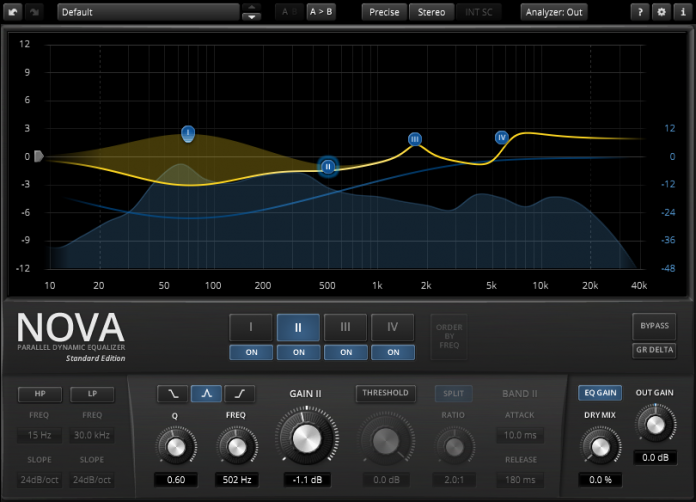 TDR Nova - Parametric Equalizer - Updated version: 1 2 0 (Free)