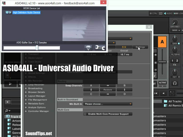 ASIO4ALL – Audio Driver Version 2 14 (New) | SoundTips