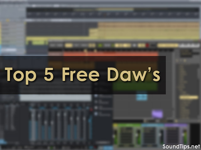 Top 5 Free DAW's of 2018 (Producer Recommended) | SoundTips