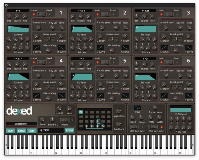 Dexed Vst – FM Plugin By Digital Suburban | SoundTips